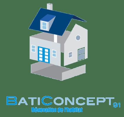 Logo Baticoncept91, votre artisan électricien et plaquiste à Arpajon